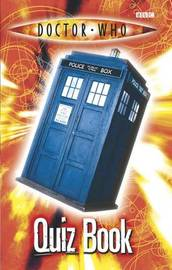 """Doctor Who"" Quiz Book by Steve Cole image"