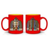 Donkey Kong Foil Print Coffee Mug
