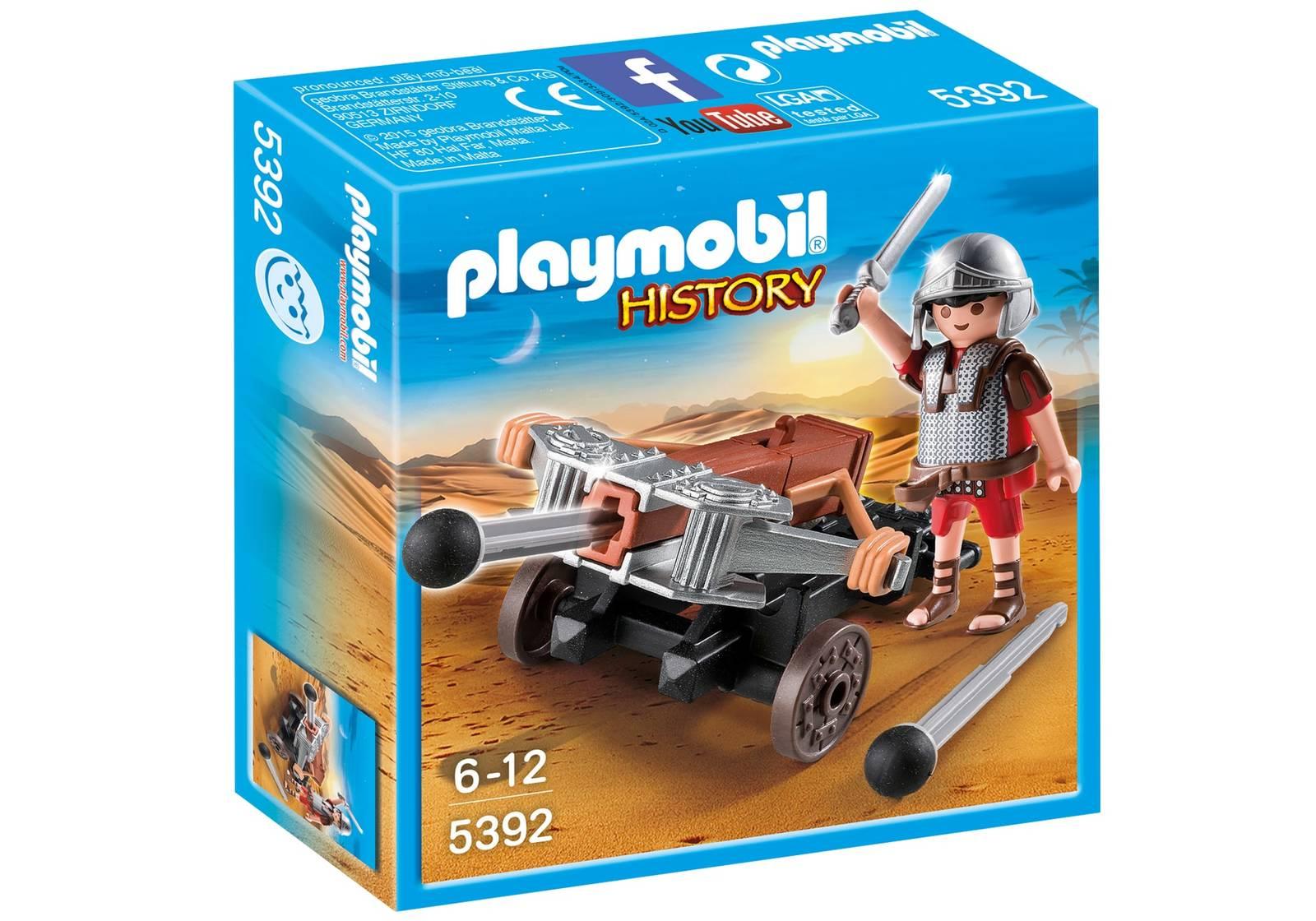 Playmobil: History - Legionnaire with Ballista image