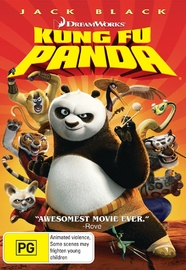 Kung Fu Panda on DVD