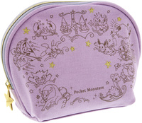 Pokemon: Star Series - Shell Shaped Pouch (Lavender)