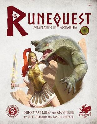 Runequest: Roleplaying in Glorantha Quick Start by Jason Durall