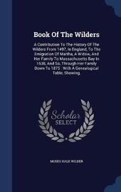 Book of the Wilders by Moses Hale Wilder image