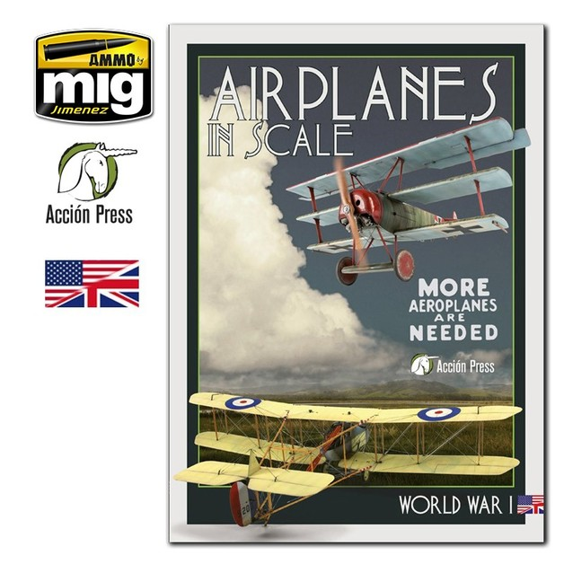 Airplanes in Scale - Vol III - World War I