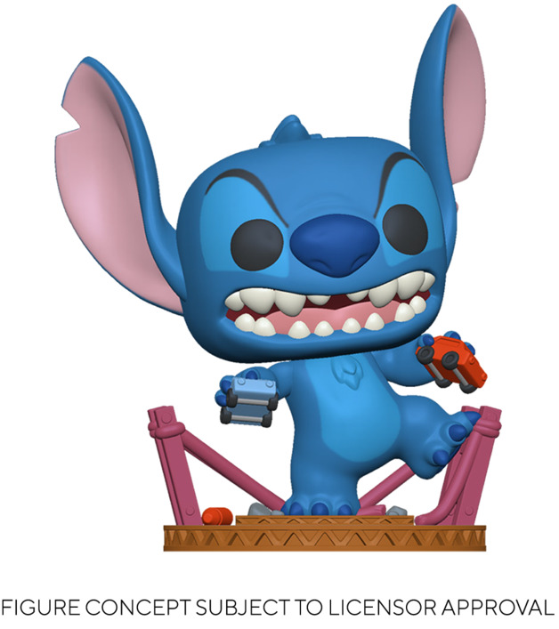 Lilo & Stitch: Stitch (as Godzilla) - Pop! Vinyl Figure