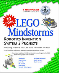 10 Cool Lego Mindstorm Robotics Invention System 2 Projects by Syngress