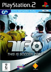 This is Soccer 2004 for PlayStation 2