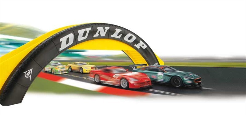Scalextric Dunlop Footbridge image