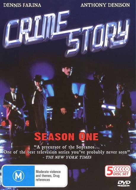 Crime Story (1986) - Season 2 (5 Disc Box Set) on DVD