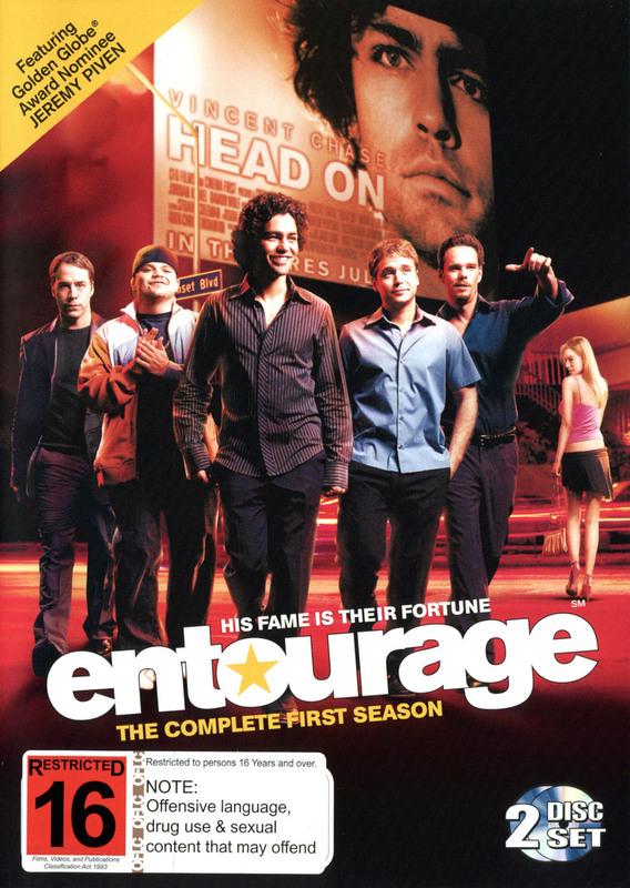 Entourage - Complete Season 1 (2 Disc Set) on DVD