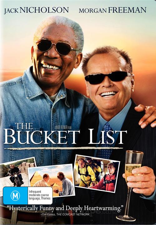 The Bucket List on DVD image