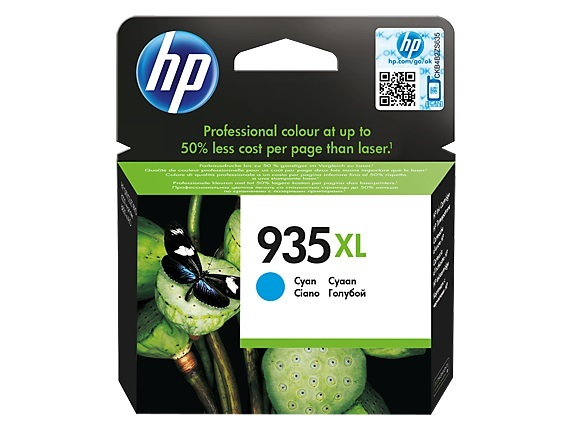 HP 935XL Ink Cartridge C2P24AA - High Yield (Cyan)