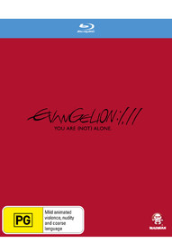 Evangelion: 1.11 You Are (not) Alone [Slipcase Edition] on Blu-ray