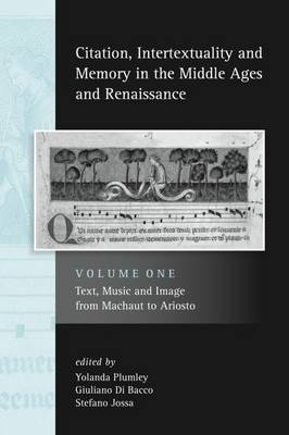 Citation, Intertextuality and Memory in the Middle Ages and Renaissance volume 1 image