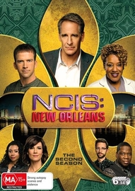 NCIS: New Orleans - Season Two (6 Disc Set) on DVD