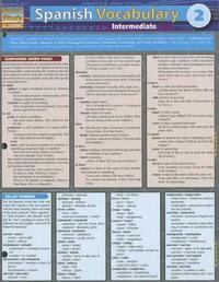 Spanish Vocabulary 2: Intermediate by BarCharts Inc