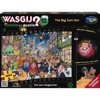 Wasgij: Christmas 12 - The Big Turn On - 1000 Piece Puzzle