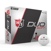 Duo White Golf Balls (Pkt3)