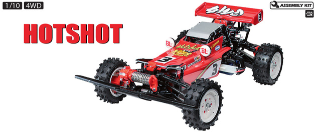 Tamiya 1/10 RC Hotshot (2007) - Assembly Kit