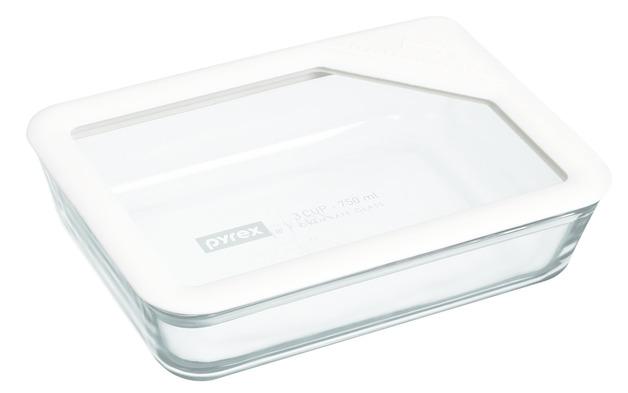 Pyrex: Ultimate Rectange Storage Dish - White (750ml)