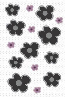 Black Five Pedal Flower Planner by Pepper X
