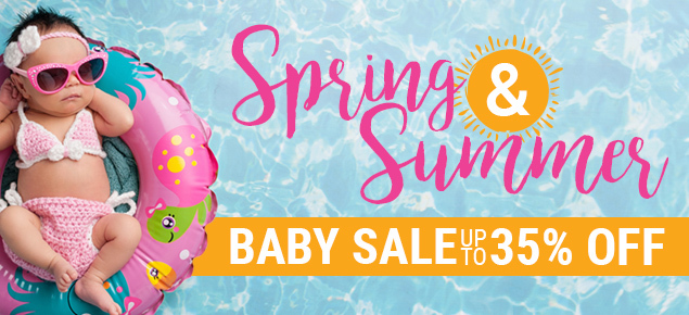 Baby Spring & Summer Sale - Up to 35% off