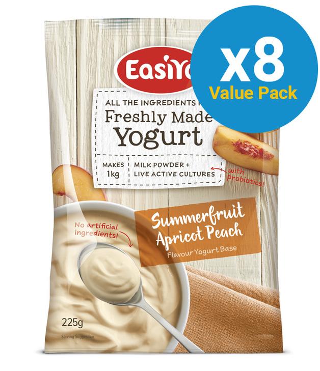 EasiYo: Everyday Range Yogurt Base - Summer Fruits (230g) - 8-Pack