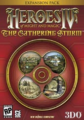 Heroes Of Might and Magic IV: The Gathering Storm for PC Games