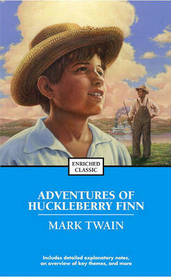 Adventures of Huckleberry Finn by Mark Twain ) image