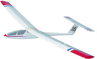 West Wings Free Flight Aircraft Kit - Kestrel (glider)