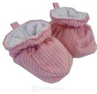 Hi-Hop Cord Slippers (12-18 Months) - Pink