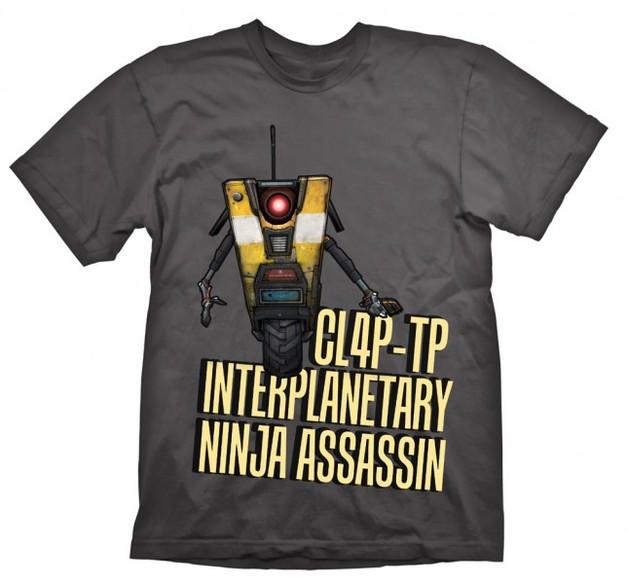 Borderlands ClapTrap Assassin T-Shirt (Large)