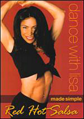 Dance With Lisa Made Simple - Red Hot Salsa on DVD