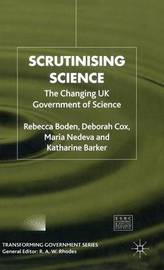 Scrutinising Science by Rebecca Boden image