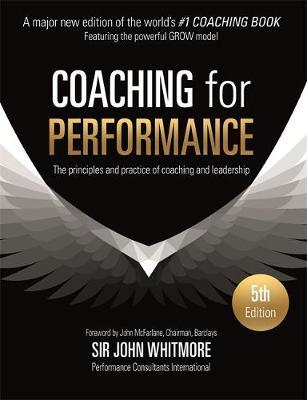 Coaching for Performance by John Whitmore image