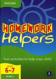 Homework Helpers KS1 English Year 2 by Tim Franks image