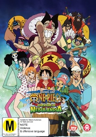 One Piece: Adventure of Nebulandia on DVD image