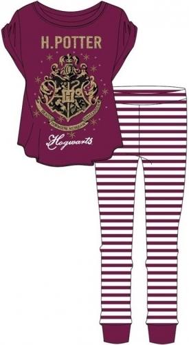 Harry Potter: Hogwarts Womens Pyjama Set - Red/16-18 image