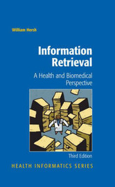 Information Retrieval: A Health and Biomedical Perspective by William Hersh image