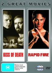 Kiss Of Death / Rapid Fire on DVD