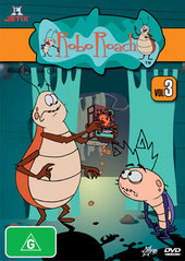 Roboroach Vol 3 on DVD
