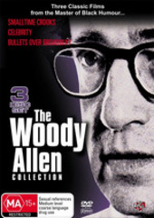 Woody Allen Collection, The (bullets Over Broadway, Small Time Crooks, Celebrity) (3 Disc) on DVD