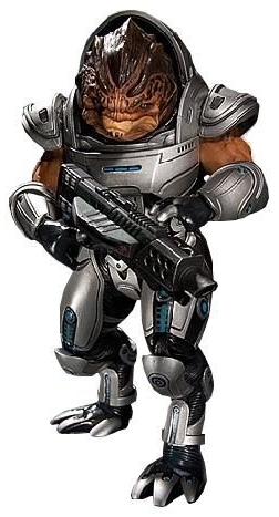 "Mass Effect 3 7"" Action Figure - Grunt (series 1) image"