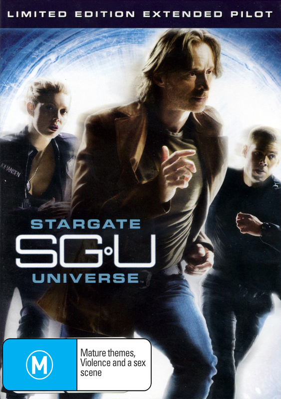 Stargate Universe - Limited Edition Extended Pilot on DVD