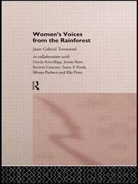 Women's Voices from the Rainforest by Janet Gabriel Townsend image
