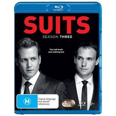 Suits - Season Three on Blu-ray