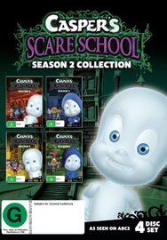 Caspers Scare School Season 2 Collection on DVD