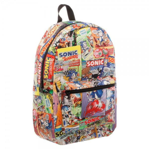 9a9e13ae21 ... Sega Sonic Backpack image ...