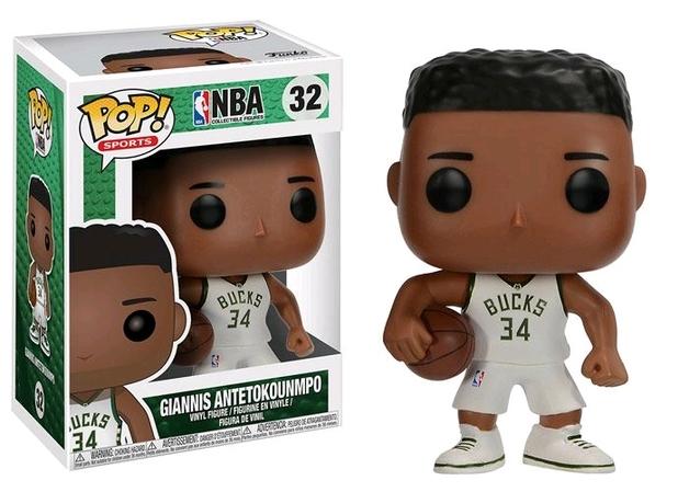 NBA - Giannis Antetokounmpo Pop! Vinyl Figure