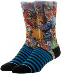 DC Comics: Justice League - Sublimated Pane Socks